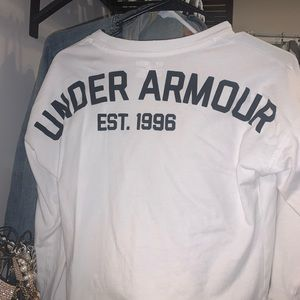Under Armour White Long Sleeve